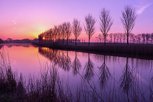 Sunrise in Holland by Susan Leonard