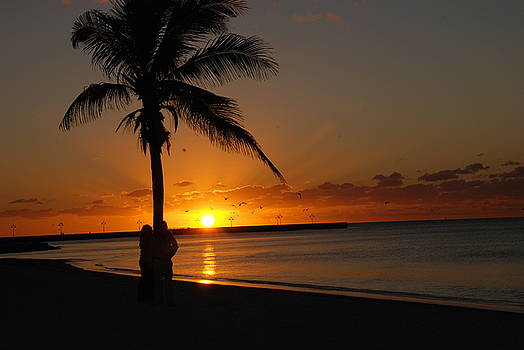 Susanne Van Hulst - Sunrise in Key West FL