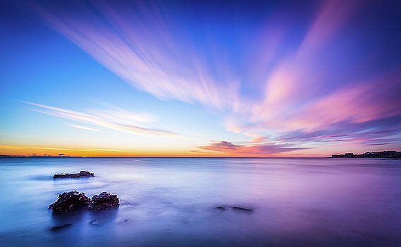 Sunrise In La Mata by Gary Gillette