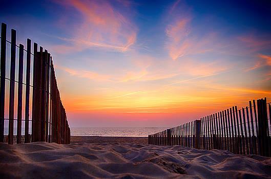 Sunrise in Ocean City, MD by John Daly