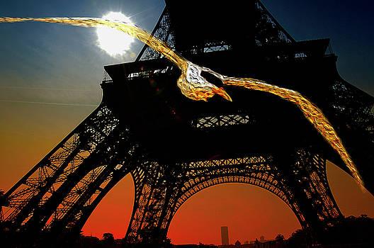 Sunrise in Paris, with the Eiffel Tower by Fernando Cruz