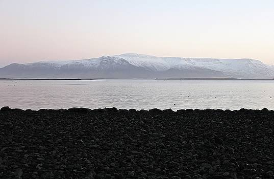 Sunrise in Reykjavik by Sean Flynn