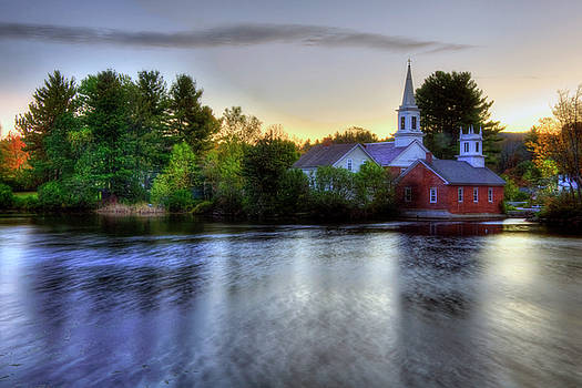 Joann Vitali - Sunrise in the Country - Harrisville NH