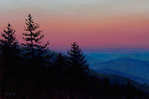 Sunrise in the Smokies by Christa Eppinghaus
