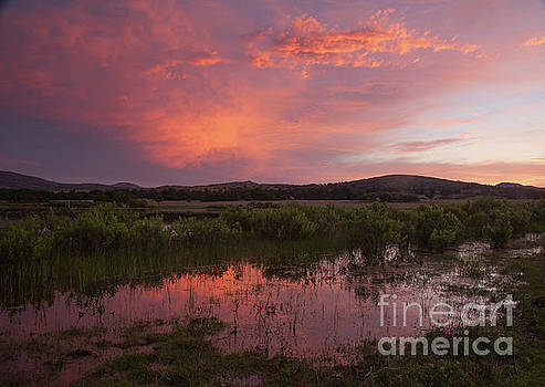 Sunrise in the Wichita Mountains by Iris Greenwell