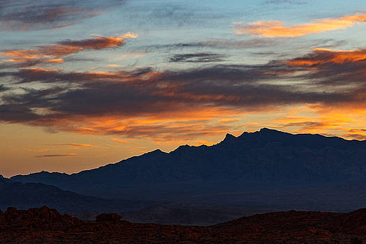 Sunrise Layers by James Marvin Phelps