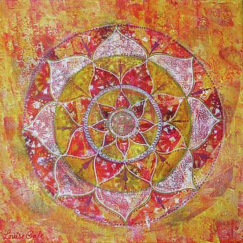 Sunrise Mandala by Louise Gale