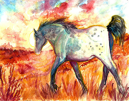 Sunrise Mare by Jenn Cunningham