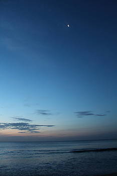 Sunrise Moon by Donna Haldas