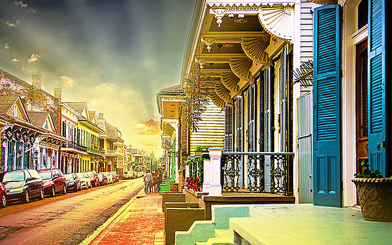 Sunrise New Orleans  by Sunman
