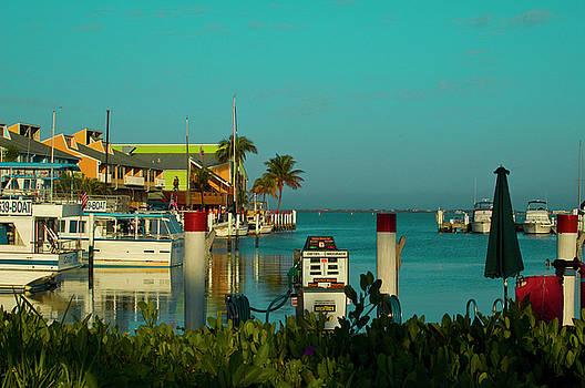Sunrise of the Marina by Sheri Heckenlaible