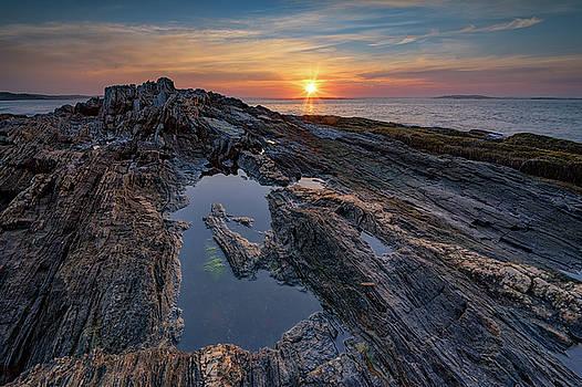 Sunrise on Bailey Island by Rick Berk