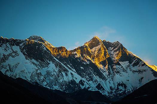 Sunrise On Everest by Owen Weber