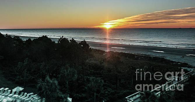 Sunrise on Hilton Head by Thomas Marchessault