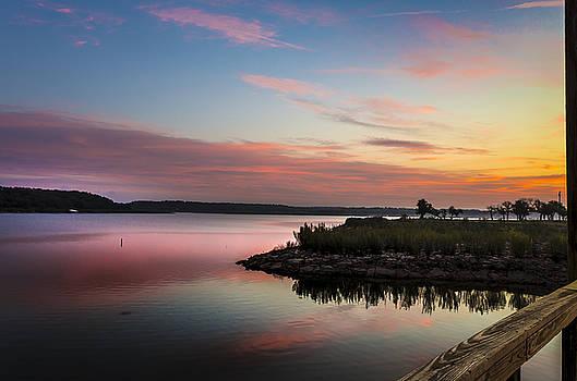 Sunrise On Lake Brownwood by Bob Marquis