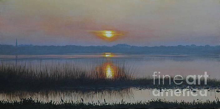 Sunrise on Lake Hollingsworth by Michael Nowak