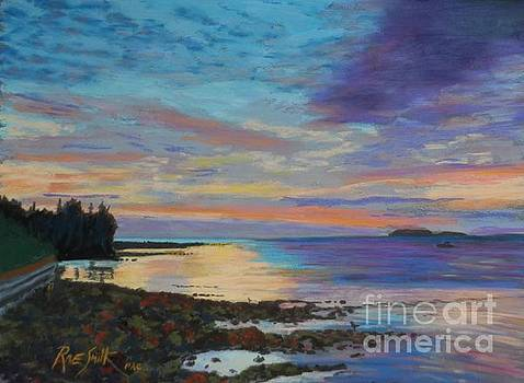 Sunrise on Tancook Island  by Rae  Smith PAC