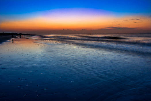 Sunrise on the Beach by Andrew King