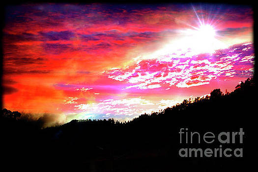 Sunrise on the Bosque by Al Bourassa