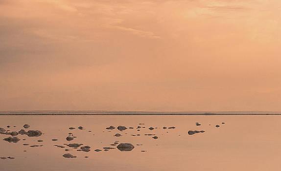 Sunrise on the Dead Sea-2 by Sergey Simanovsky