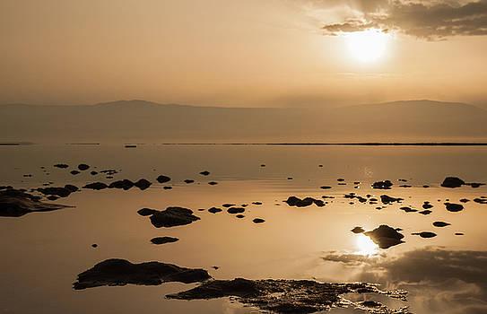 Sunrise on the Dead Sea by Sergey Simanovsky