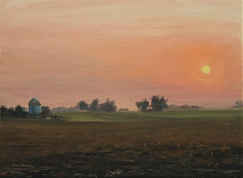 Sunrise on the Farm by Steve Haigh