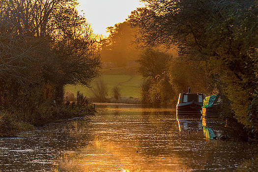 ReDi Fotografie - Sunrise on the Grand Union Canal