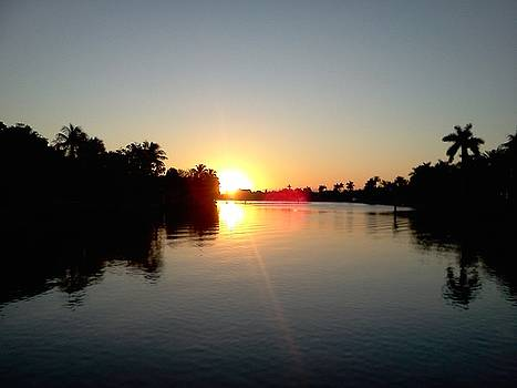Sunrise on the Intercoastal by Peter Griffen