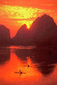 Dennis Cox ChinaStock - Sunrise on the Lijiang