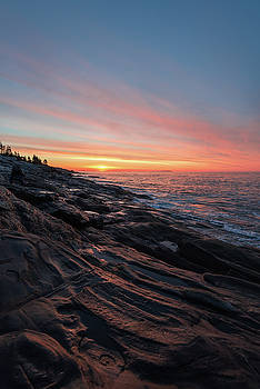 Sunrise on the Midcoast by Jesse MacDonald