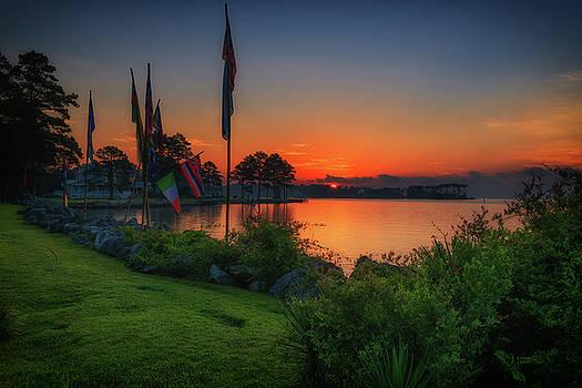 Sunrise on the Neuse 2 by Cindy Lark Hartman