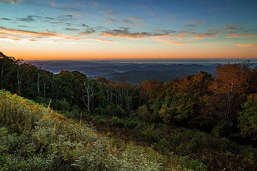 Sunrise On The Hill by ChrisAntoniniPhotography