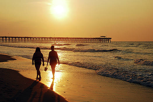 Sunrise on the Strand by James Kirkikis