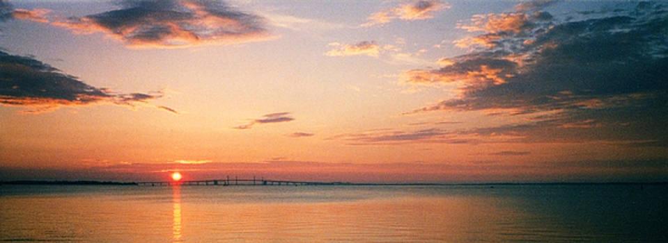 Sunrise over Bay Bridge by Paul Pobiak
