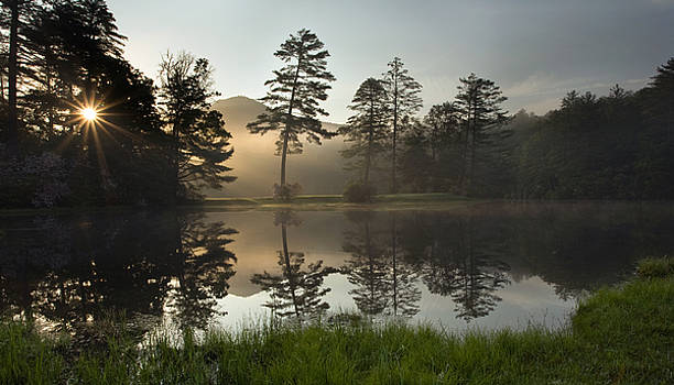 Sunrise over Lake Hampton - Cashiers North Carolina by Matt Tilghman