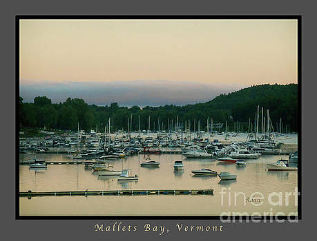 Felipe Adan Lerma - Sunrise Over Mallets Bay Variations - Three - Poster Greeting Card v1