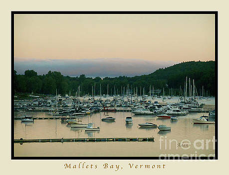 Felipe Adan Lerma - Sunrise Over Mallets Bay Variations - Three - Poster Greeting Card v2
