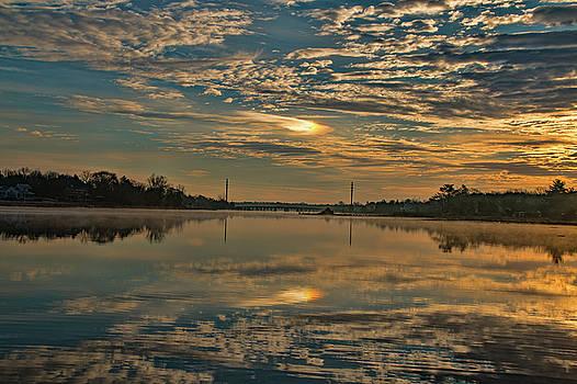 Kristia Adams - Sunrise over Mill Pond