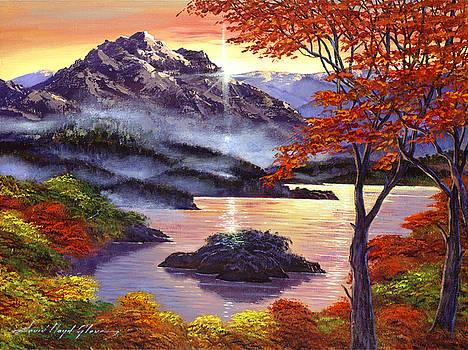 David Lloyd Glover - Sunrise Over Mystic Lake