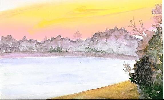 Sunrise Over Scoutland   detail by Melanie Rochat
