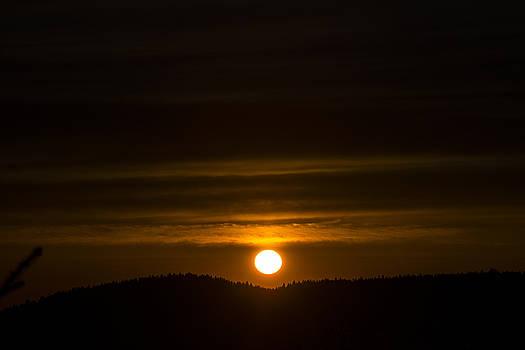 Matt Swinden - Sunrise Over the Foothills