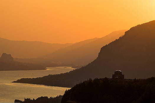 Sunrise Over the Gorge by Jim Simmermon