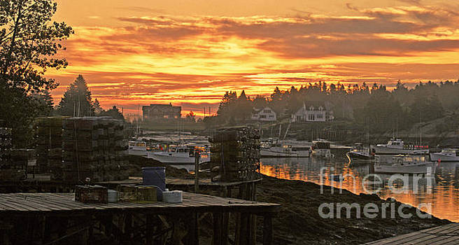 Sunrise over the Harbor by Christopher Mace