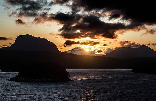 Matt Swinden - Sunrise over the Inland Passage