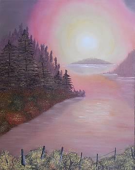 Sunrise over the Lake by Dorothy Merritt