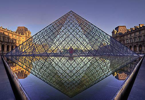 sunrise over the Pyramid by Stephanie Benjamin