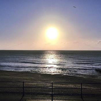 Sunrise Over The Sea This Morning!! by Natalie Anne