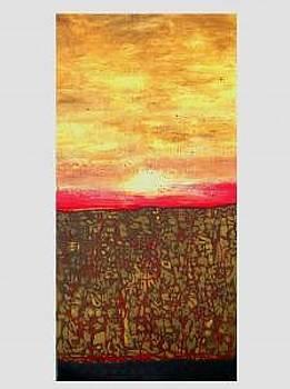 Sunrise Over The Sudan by Teresa Carter