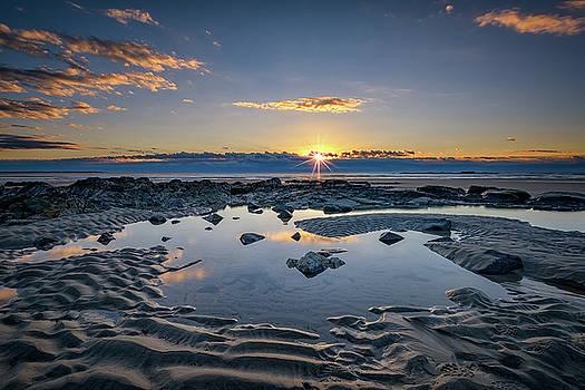 Sunrise Over Wells Beach by Rick Berk