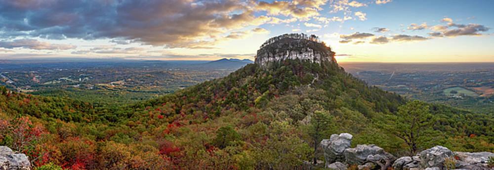 Sunrise Panorama-Pilot Mountain by Greg Dollyhite